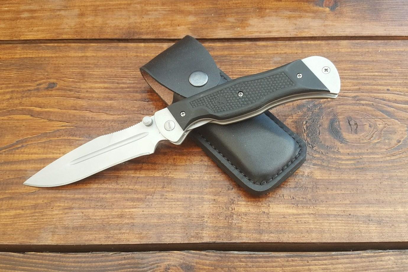 """Нож складной """"Спецназ"""", пластиковые накладки, покрытие антиблик, с упрочнением режущей кромки"""