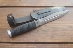 Нож  Шайтан, рукоять резина, покрытие антиблик