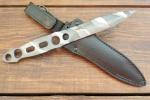 Нож  Кобра, рукоять металл, покрытие камуфляж