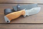 Нож  Белый медведь, рукоять дерево, покрытие антиблик