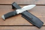 Нож  Каратель-Р, рукоять резина, покрытие антиблик