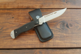 Нож складной Офицерский-1, пластиковые накладки, покрытие антиблик