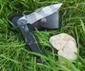 Нож складной Спецназ, пластиковые накладки, покрытие камуфляж