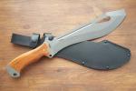 Нож  Елань-2, рукоять дерево, покрытие антиблик