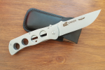 Нож складной Багира, рукоять металл, покрытие антиблик