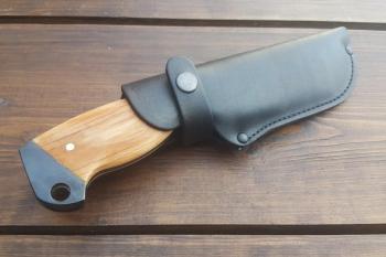 Ножны для ножа Гризли из натуральной кожи