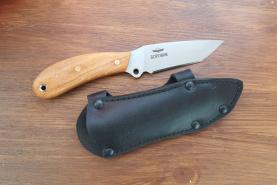Нож  Боровик-2 (танто), рукоять дерево, покрытие антиблик