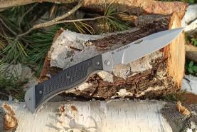 Нож складной Братишка, пластиковые накладки, покрытие антиблик