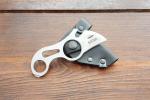 Нож  Блоха, рукоять металл, покрытие антиблик