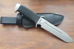 Нож  Катран-3, рукоять резина, покрытие антиблик