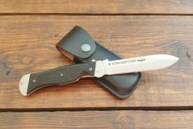 Нож складной Командирский-1, пластиковые накладки, покрытие антиблик