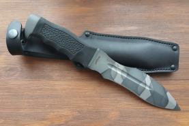 Нож  Каратель-Р, версия Маэстро рукоять резина, покрытие камуфляж