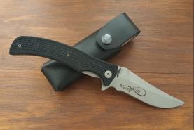 Нож складной Магер, пластиковые накладки, покрытие антиблик