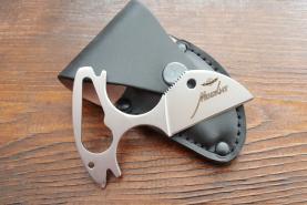 Нож  Москит, рукоять металл, покрытие антиблик