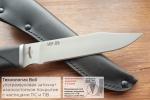 Нож  НР-09, рукоять резина, покрытие антиблик, с УЗ