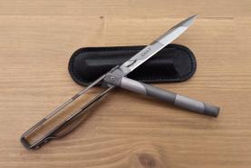 Нож складной Скат, рукоять металл, покрытие камуфляж