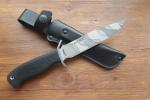 Нож  Смерш-5, рукоять резина, покрытие камуфляж