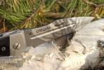 Нож складной Спецназ, пластиковые накладки, покрытие камуфляж, с УЗ