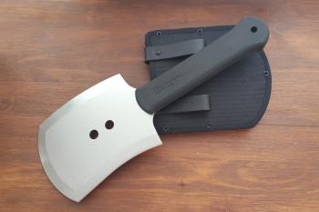 """Лопата """"Попутчик"""", рукоять термоэластопласт, покрытие антиблик, ножны кордура"""