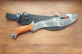 Нож  Елань-2, рукоять дерево, покрытие камуфляж